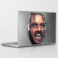 fear Laptop & iPad Skins featuring Fear. by Emiliano Morciano (Ateyo)
