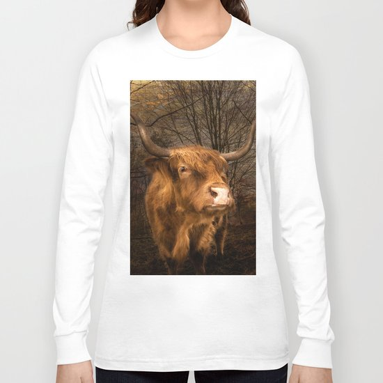 Highland Toffee Coo Long Sleeve T-shirt