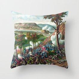 Battle of Missionary Ridge Throw Pillow