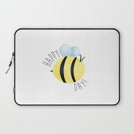 Happy Bee-Day Laptop Sleeve