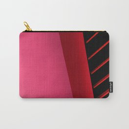 Urban Beauty in Pink Carry-All Pouch