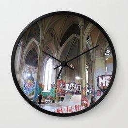 Historic repurpose Wall Clock