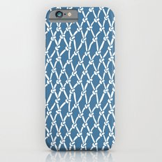 Fishing Net Blue iPhone 6s Slim Case