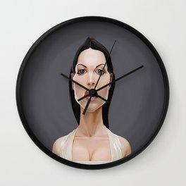Celebrity Sunday ~ Monica Bellucci Wall Clock