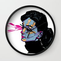hepburn Wall Clocks featuring A. Hepburn by philip painter