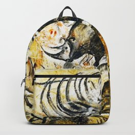 Panel of Rhinos // Chauvet Cave Backpack