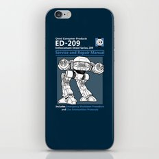 ED-209 Service and Repair Manual iPhone & iPod Skin