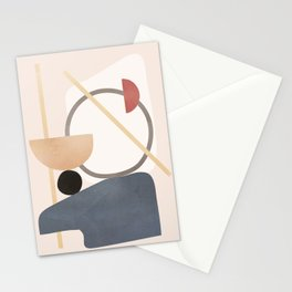 Minimal Abstract Shapes No.51 Stationery Cards