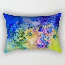 the conglomerate of color Rectangular Pillow