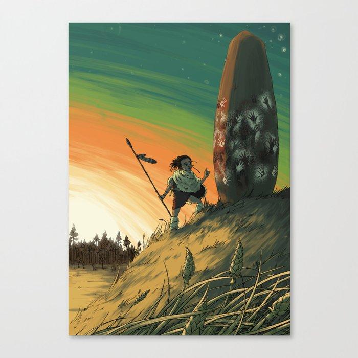 Megalith Canvas Print