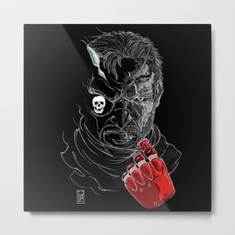 Big Boss (textless version) Metal Print
