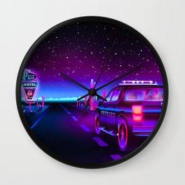 Strange Sheriff Wall Clock