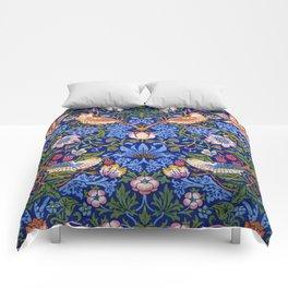 "William Morris ""Strawberry Thief"" 1. Comforters"