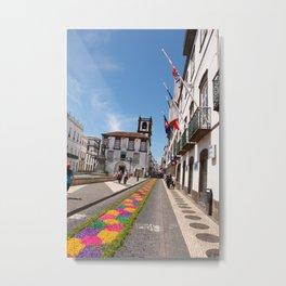 Ponta Delgada, Azores Metal Print