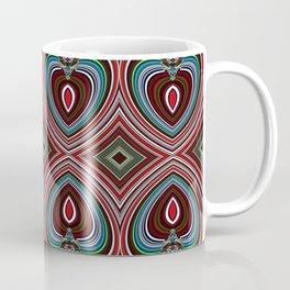 Wavy texture diamond pattern Coffee Mug
