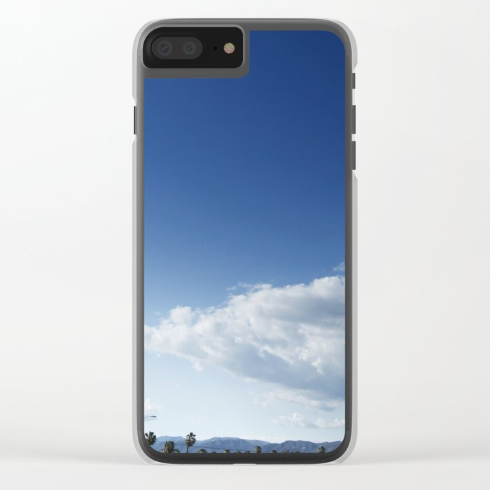 Cloud Ship Clear iPhone Case