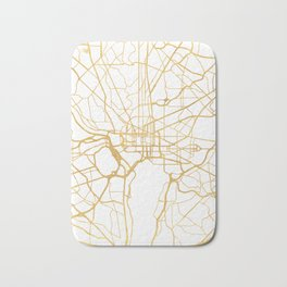 WASHINGTON D.C. DISTRICT OF COLUMBIA CITY STREET MAP ART Bath Mat