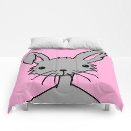Bunnybutt Bitch | Veronica Nagorny Comforters