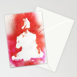 Buddha in White Stationery Cards