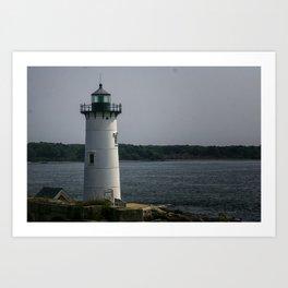 Portsmouth Harbor Lighthouse Art Print