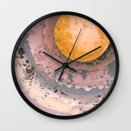 Dust 02 - Post Biological Universe Wall Clock