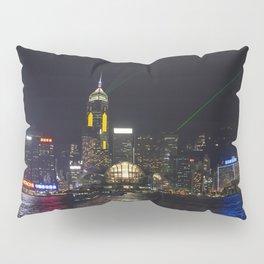 Hong Kong Symphony of Lights Pillow Sham