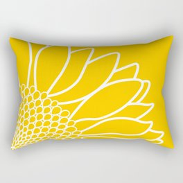 Sunflower Cheerfulness Rectangular Pillow