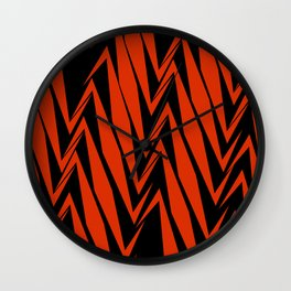 Twisted Electric Wall Clock