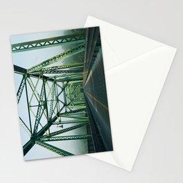 Morning Fog on the Stockton Bridge  Stationery Cards