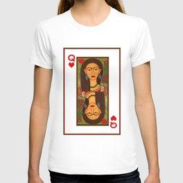Frida Kahlo, reina de corazones T-shirt