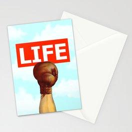 kick life back Stationery Cards