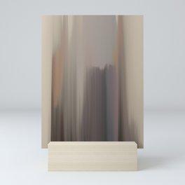 Abstract Landscape Earth tones seascape 40 Mini Art Print