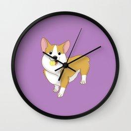 Playful Pembroke Wall Clock