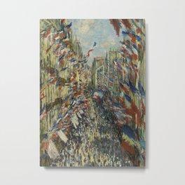 The Rue Montorgueil in Paris Metal Print