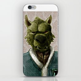duke wolf iPhone Skin