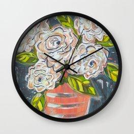 Alba in the Moonlight Wall Clock