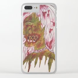Living dead Clear iPhone Case