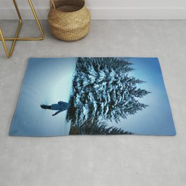 Into Winter We Wonderland Rug
