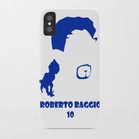 juventus iPhone & iPod Cases featuring Baggio Juventus by Sport_Designs