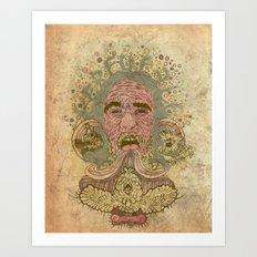 Kerfuffle Art Print