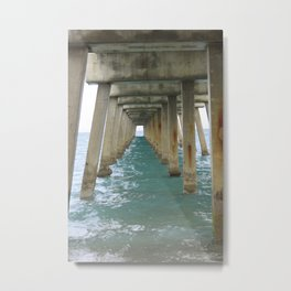 Pier 2 Metal Print
