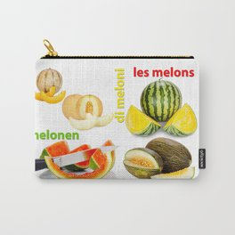 Many Melon Fruits Carry-All Pouch