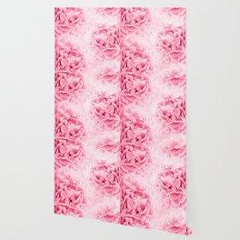 Light Red Peonies Dream #1 #floral #decor #art #society6 Wallpaper