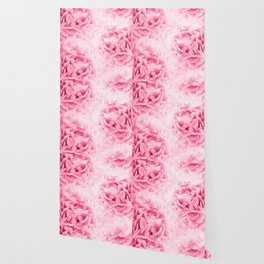 Light Red Peonies Dream #1 #floral #decor #art #society6 Wallpaper