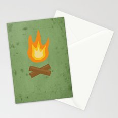 Fire Stationery Cards