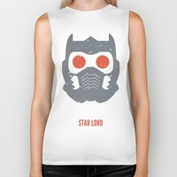 star lord Biker Tanks featuring Star-Lord by d00d it's jake
