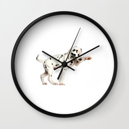 Cute Dalmatian 5 Wall Clock