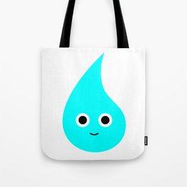 Happy Raindrop Tote Bag