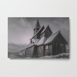 Urnes Stavkirke I Metal Print