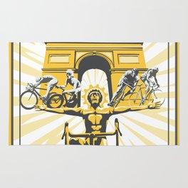 Le Grande Boucle Tour de France Rug